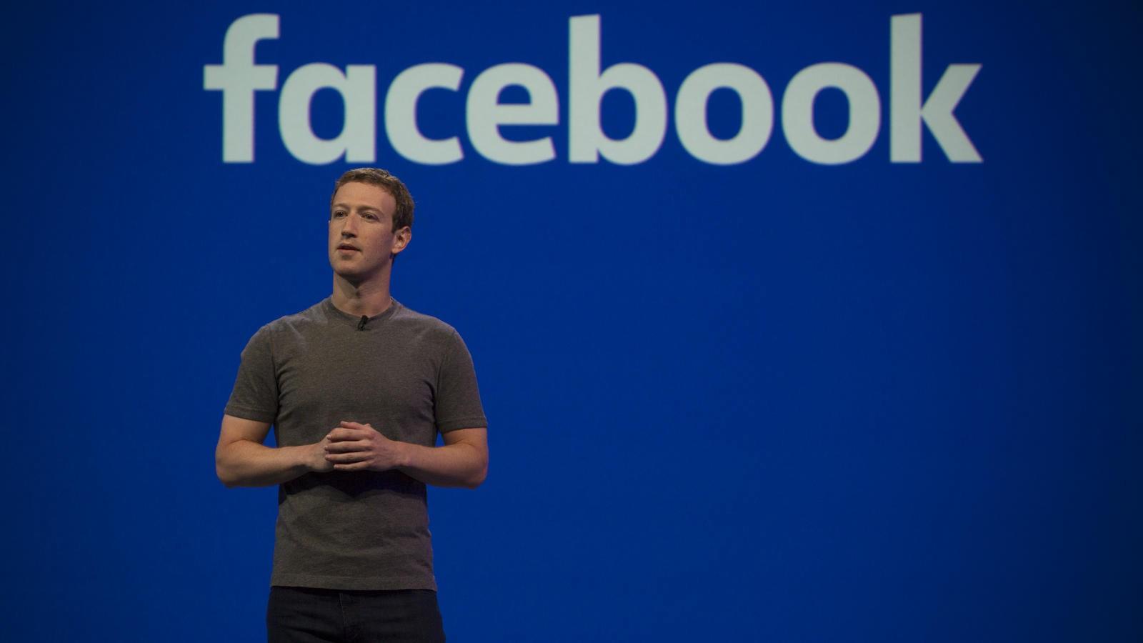 Цукерберг Facebook
