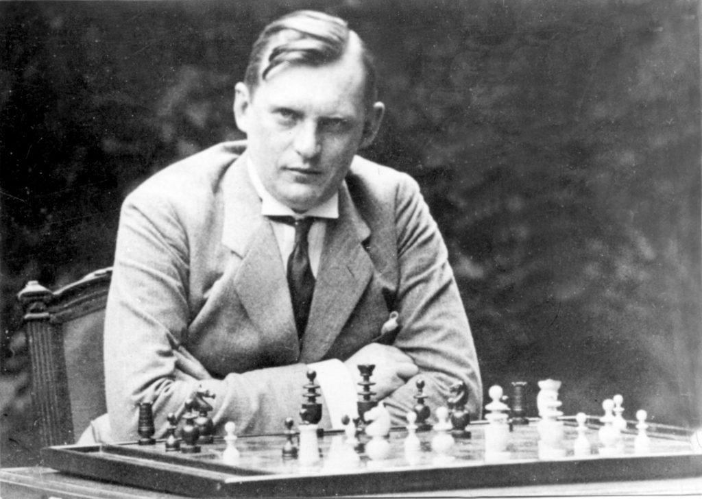 Шахматист Алехин