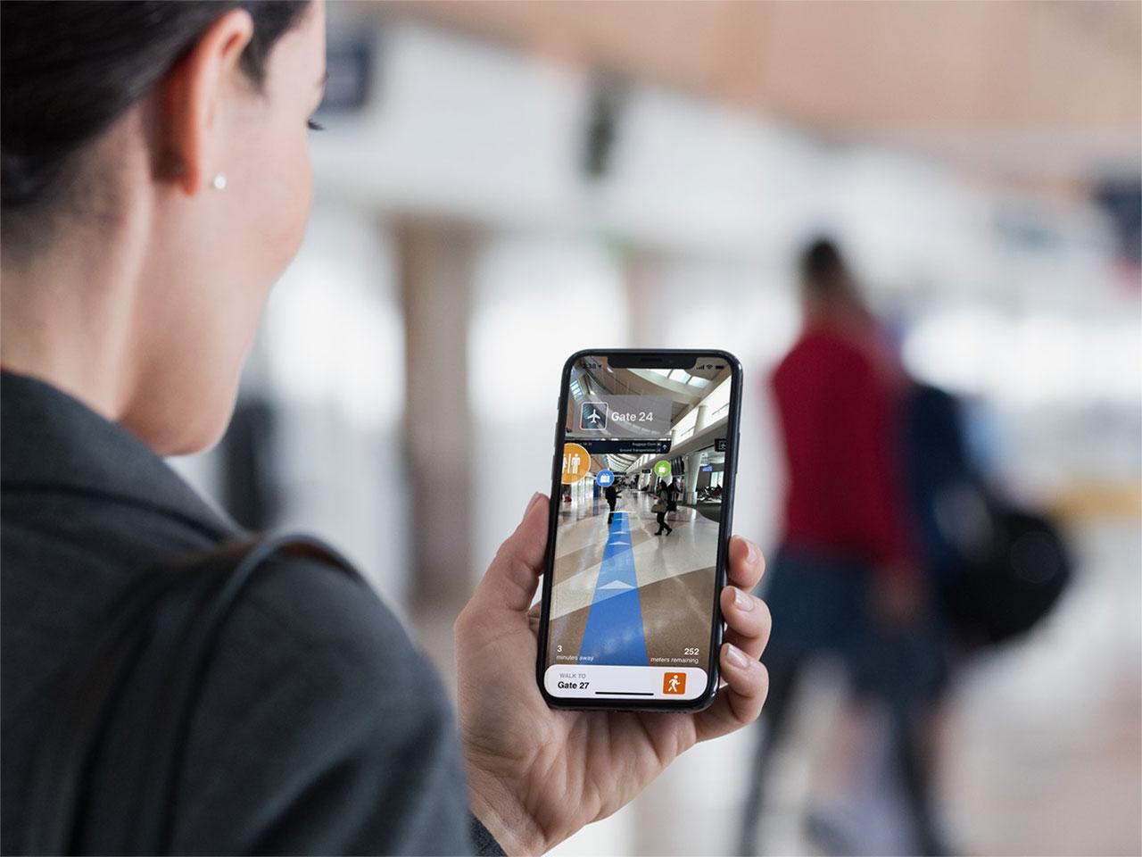IPhone с лазерной 3D-камерой