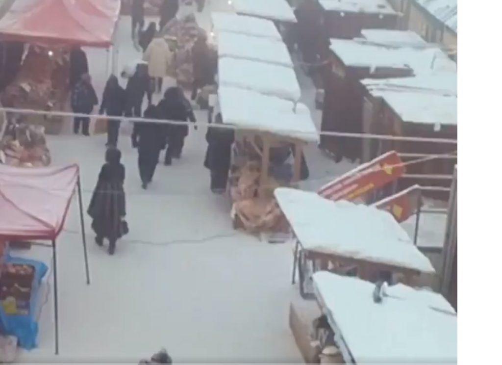 Рынок в Иркутске