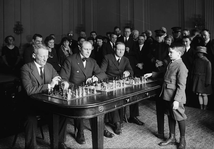 Самуэль Решевский: шахматный вундеркинд