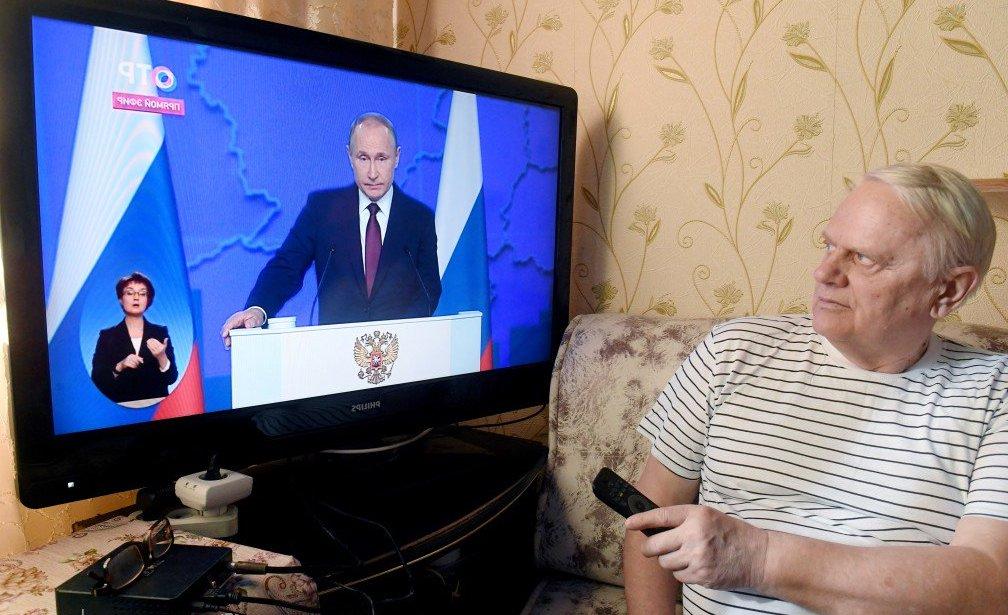 Послание Путина. Фото: Риа Новости
