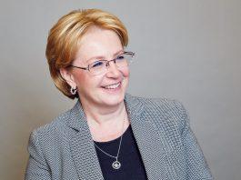 Вероника Скворцова, министр здравоохранения