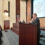 Владимир Путин на заседании коллегии Федеральной службы безопасности РФ (Фото: Алексей Дружинин / ТАСС)