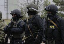 Задержание террористов в Крыму