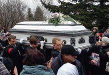 Похороны Юлии Началовой