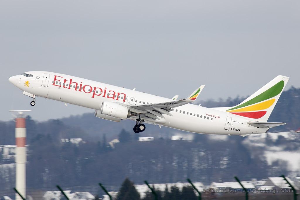 В Эфиопии разбился пассажирский самолет Boeing 737