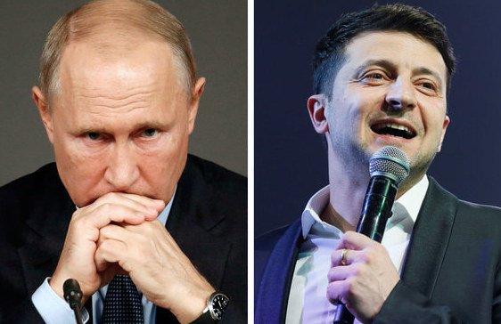 Владимир Зеленский, Владимир Путин Valentyn Ogirenko / Reuters, Lefteris Pitarakis / AP