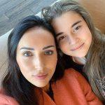 Алсу и ее дочь, Микелла Абрамова