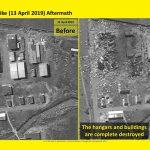 Ракетный завод в Сирии под охраной С-300. До и после атаки Израиля