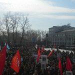 В Архангельске начались массовые митинги против ввоза московского мусора